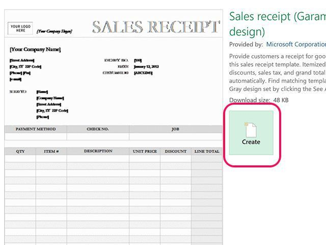 How to Create a Receipt in Excel   Techwalla.com