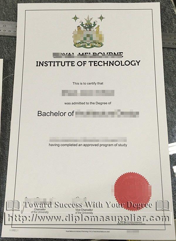 RMIT degree, RMIT diploma, RMIT certificate, RMIT MBA, Australian ...