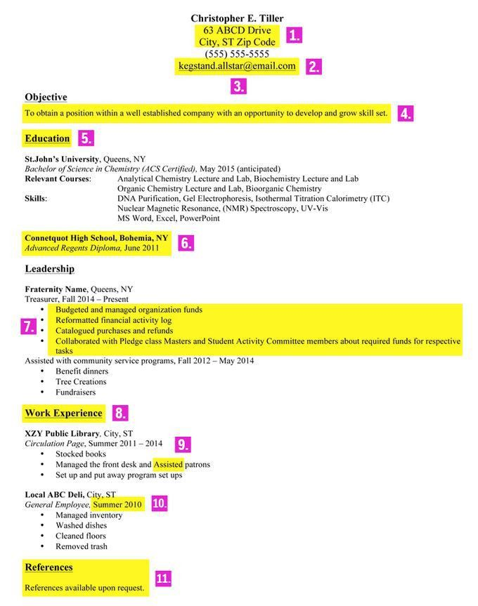 19+ [ Sample Resumes For Part Time Jobs ] | Resume Design My ...