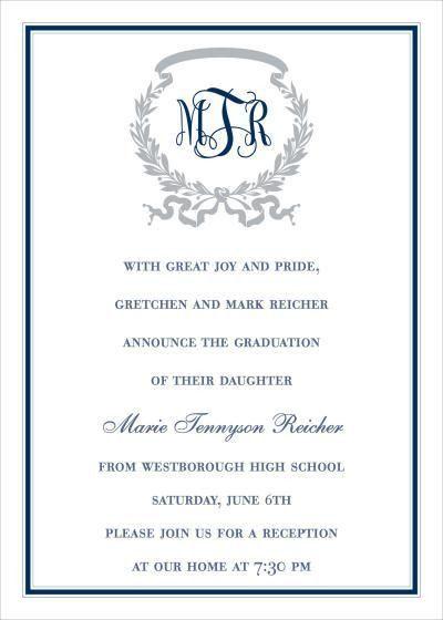 Graduate Invites: Stylish but Formal Graduation Invitations ...