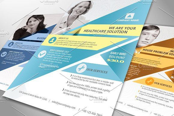 25+ best design and format of flyer templates & examples ...