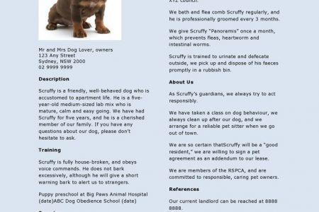 good pet sitter resume 7 best images about resumes on pinterest