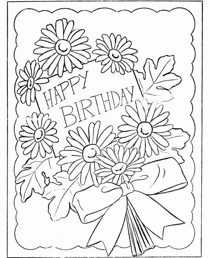 Free Printable Birthday Card Template – gangcraft.net