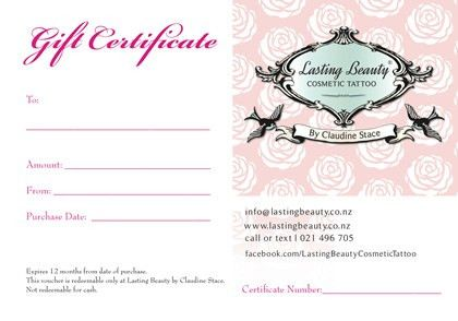 Wellington Cosmetic Permanent Makeup – Gift Voucher: Wellington ...