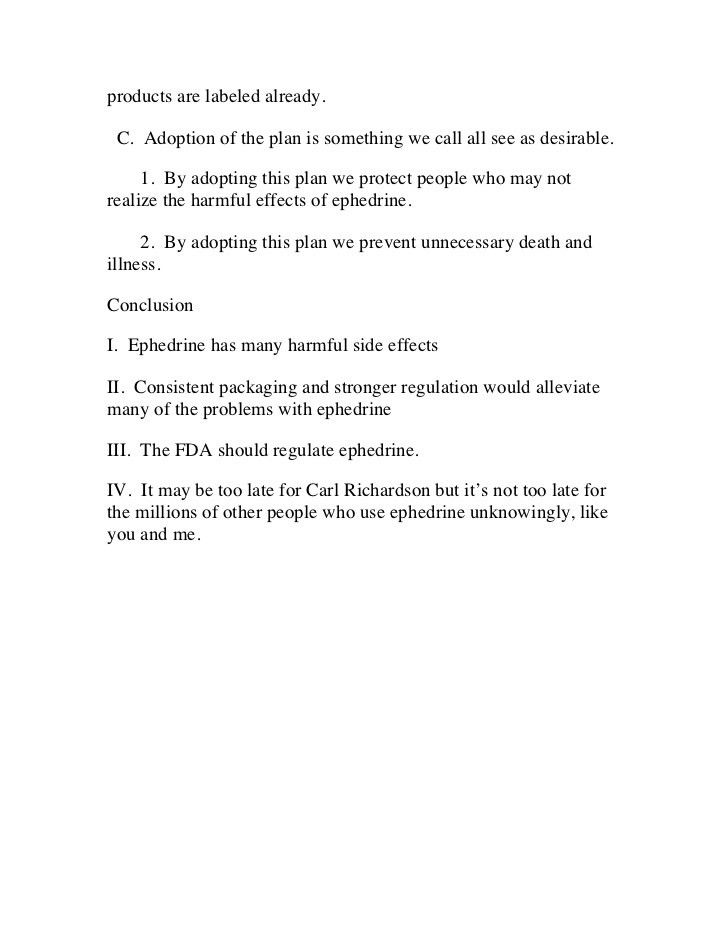 Persuasive speech sample outline – problem