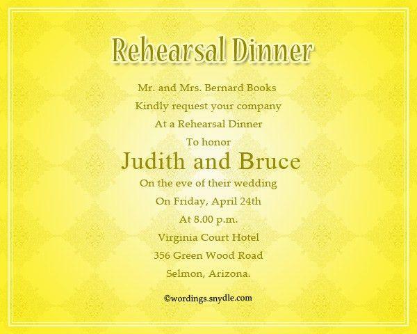 Dinner Party Invitation Sample - cv01.billybullock.us