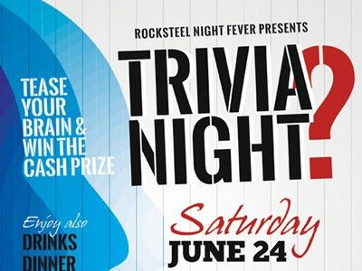 Trivia Night Flyer Templates by Kinzi Wij - Dribbble