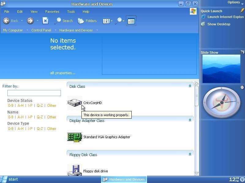 ActiveWin.com: Microsoft Longhorn Screenshots