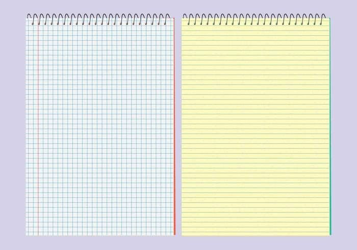 Notebook Paper Background Free Vector Art - (27743 Free Downloads)