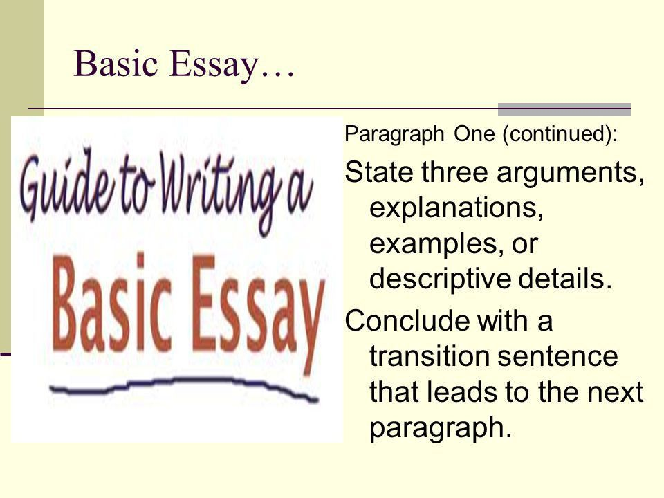 How to Write Body Paragraphs - ppt download