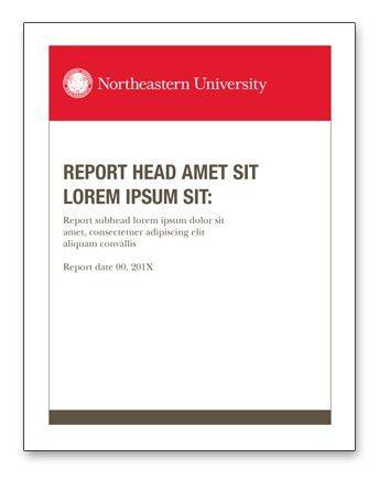 Print Design Guides | Branding Guidelines | Northeastern University