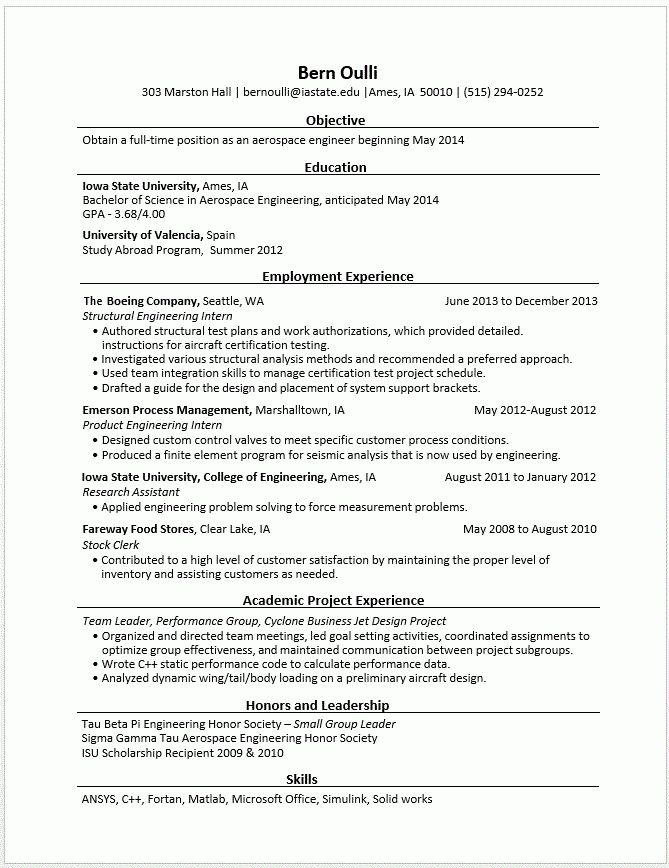 Download Engineering Resumes | haadyaooverbayresort.com