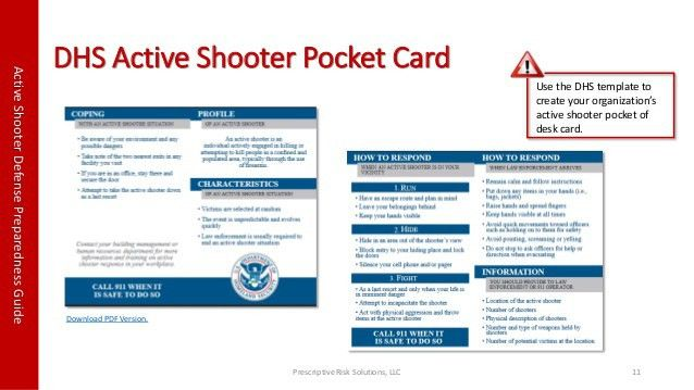 Active Shooter Guide