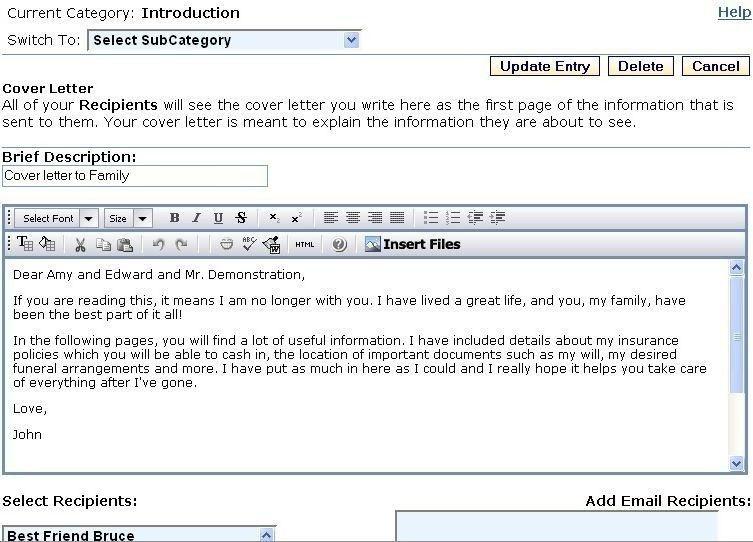 Emailing A Resume Sample | jennywashere.com