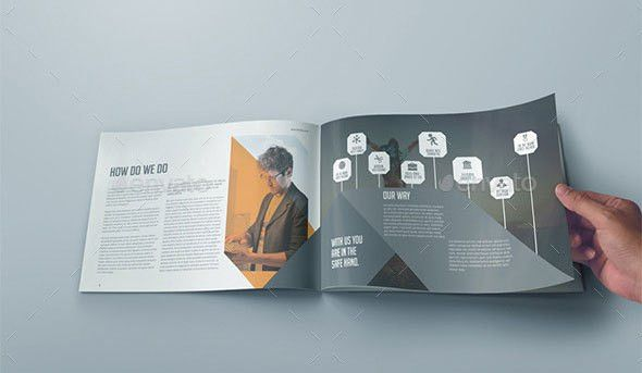 40 Best Corporate InDesign Annual Report Templates | Web & Graphic ...