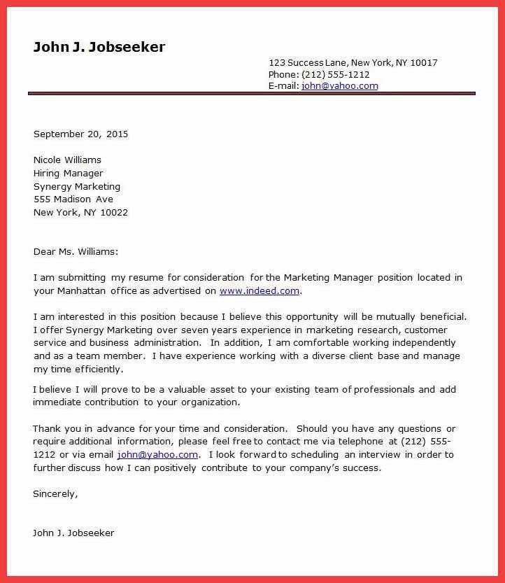 formal cover letter example memo example - Formal Covering Letter
