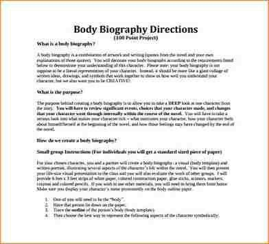 Biography Template. Biography Research Template Biography Research ...