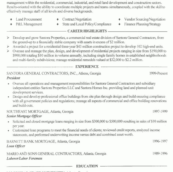 Amazing Chic Contractor Resume 5 Independent Contractor Resume ...