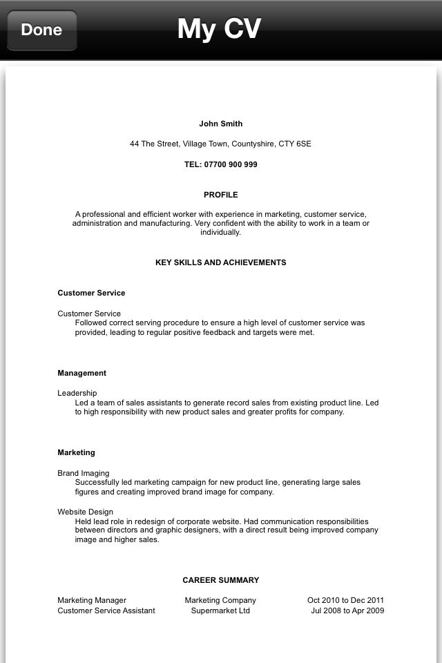 cv personal statement help help resume builder create a free cv - Help Resume Builder