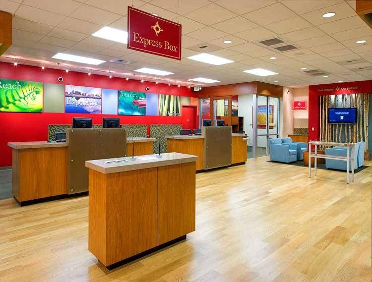 modern bank teller desk design - Google Search | BANK | Pinterest ...