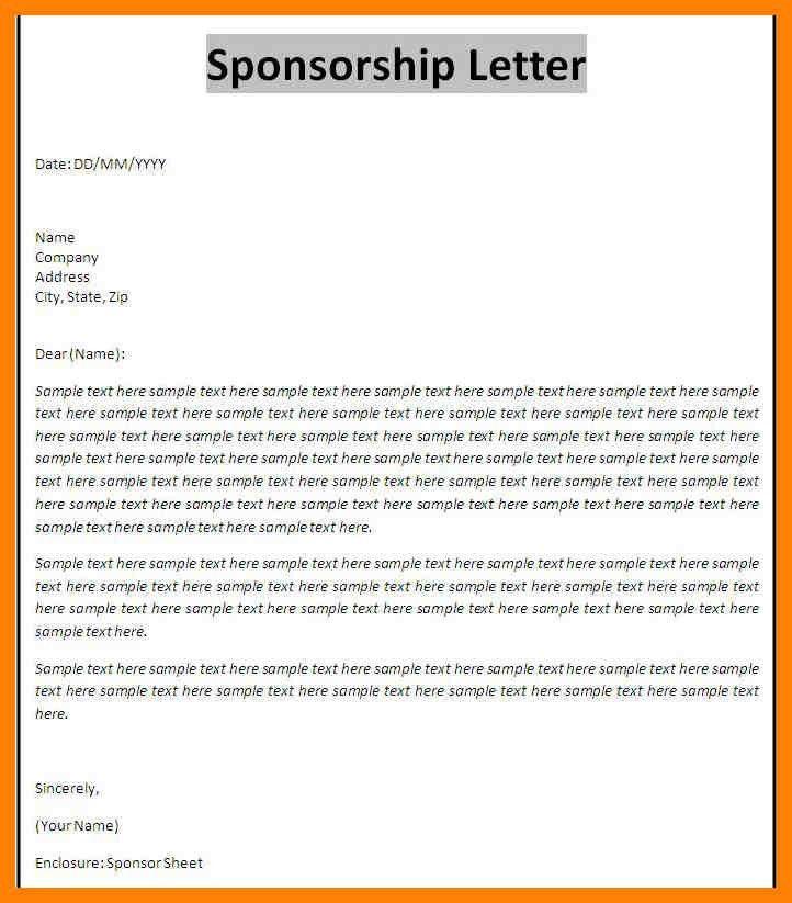 Corporate Sponsorship Proposal Template - Contegri.com