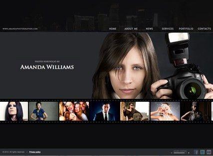 Photographer HTML5 template | Best Website Templates