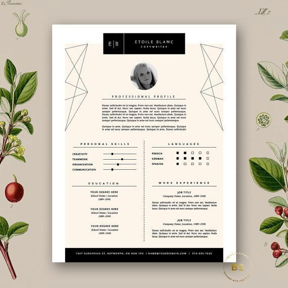 23 best CV images on Pinterest | Cv ideas, Resume ideas and Resume ...