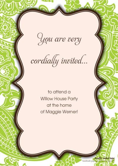 You Re Cordially Invited Template | Best Template Collection