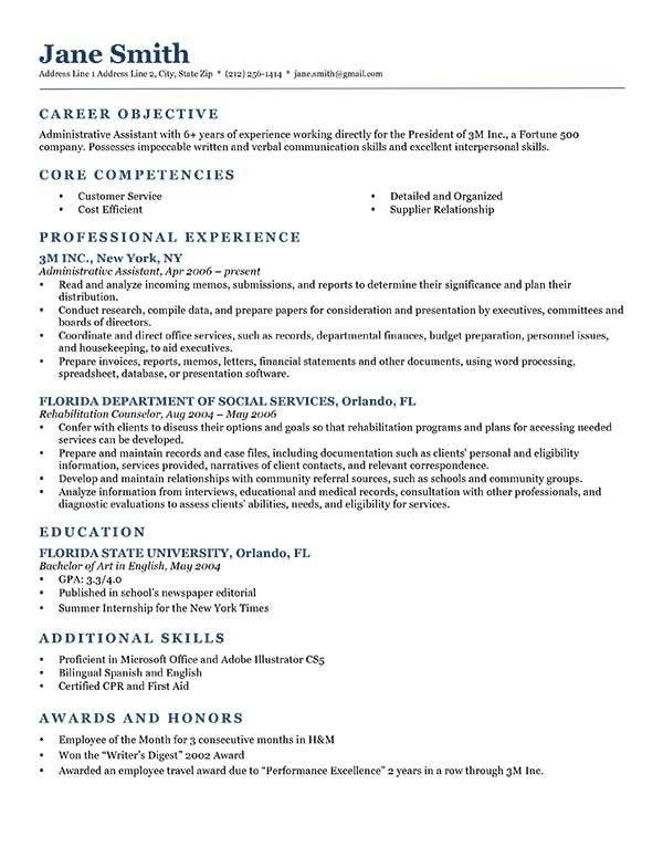 Writing Objective For Resume 5 Resume Objective Writing ...