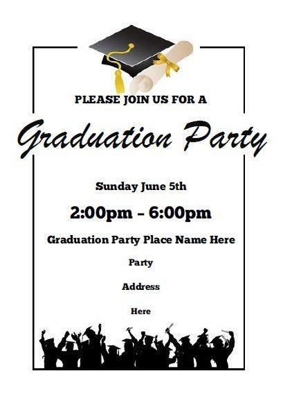 Graduate Invites: Breathtaking Graduation Party Invitation ...