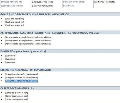HR Excel Templates Download