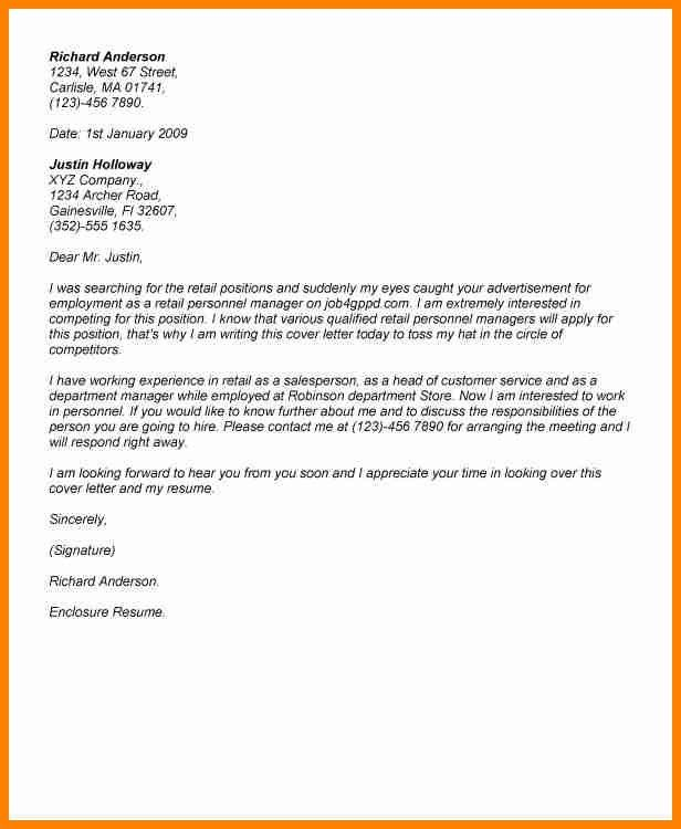 9+ retail cover letter examples | art resumed
