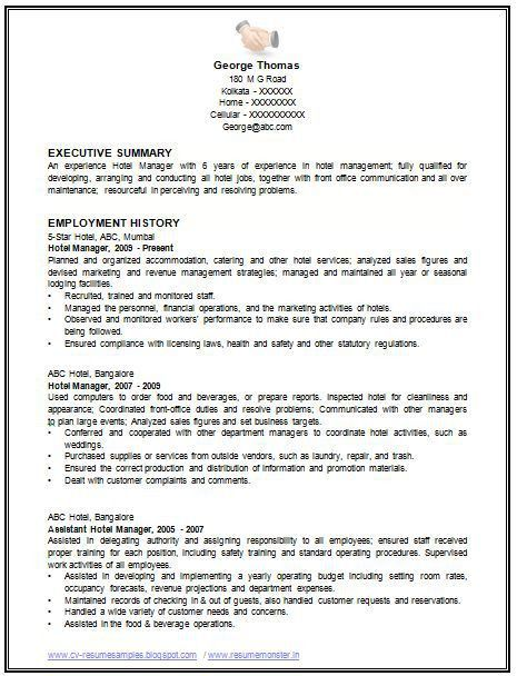 Standard Resume Format] Standard Resume Templates To Impress Any