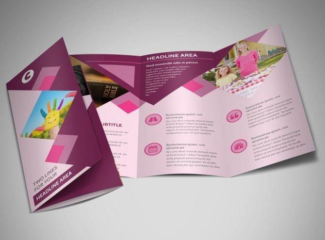 Church Fundraiser Brochure Template | MyCreativeShop