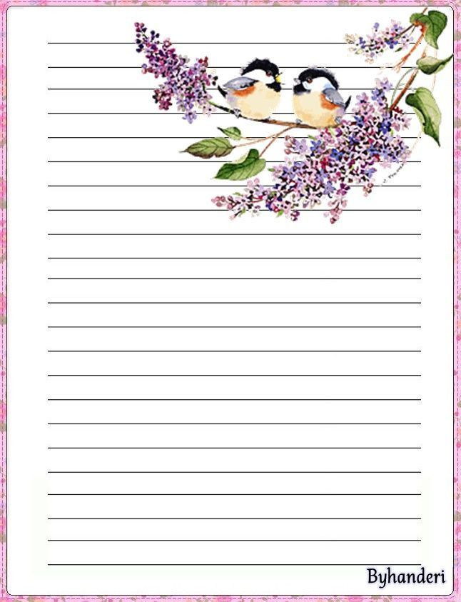 267 best pretty paper lined images on Pinterest | Writing papers ...