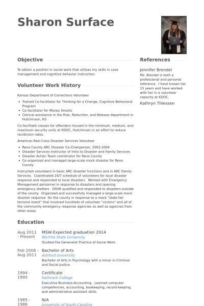 Practicum Student Resume samples - VisualCV resume samples database