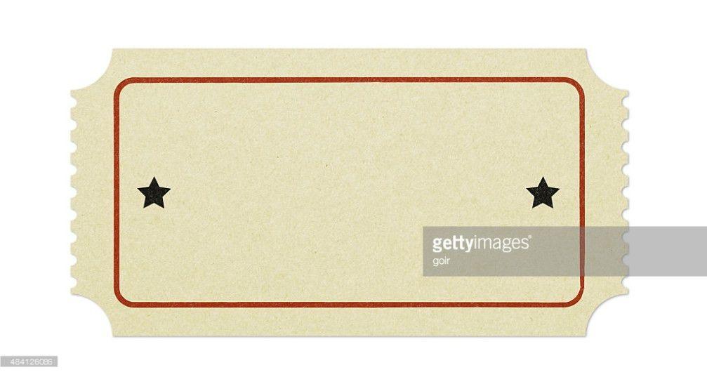 Old Blank Ticket Stock Photo | Thinkstock