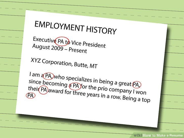 7 Ways to Make a Resume - wikiHow