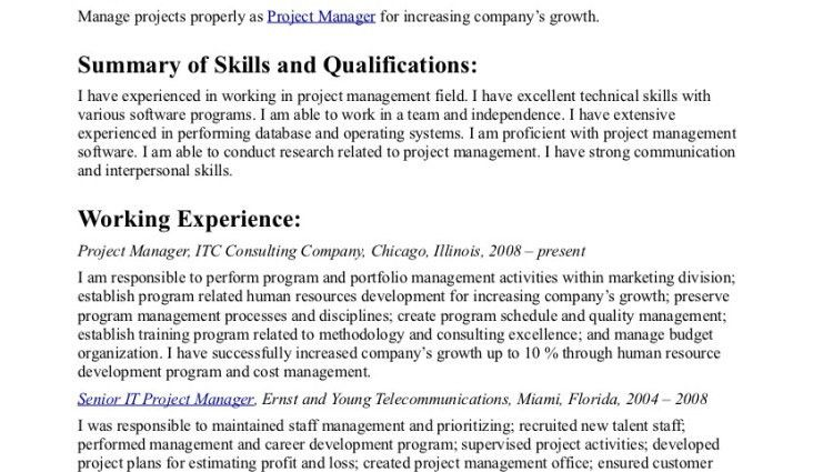 example resume objective statement sample career objectives ...