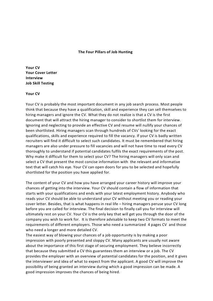 Resume cover letter for cma