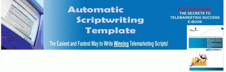 Mortgage Telemarketing Script Template: Create a WINNING ...