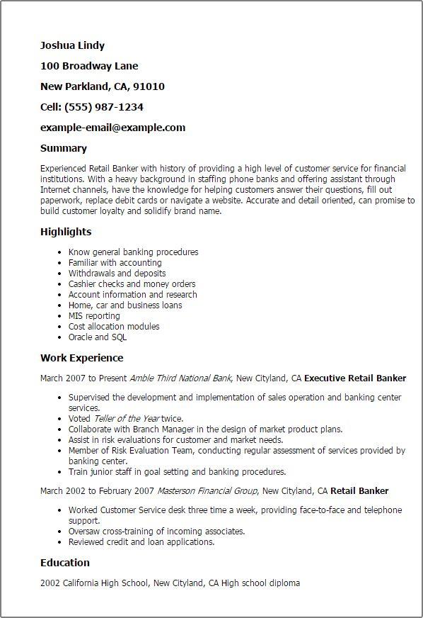 Augustais - resume example