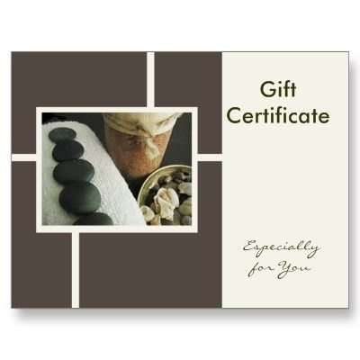 Massage Gift Certificates: The Best Gift Option   Perfect Therapy