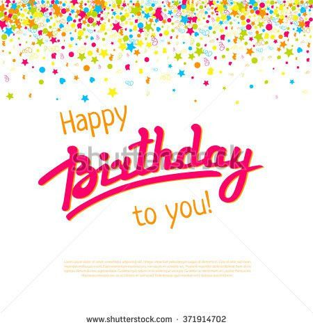 Birthday Greeting Stock Images, Royalty-Free Images & Vectors ...