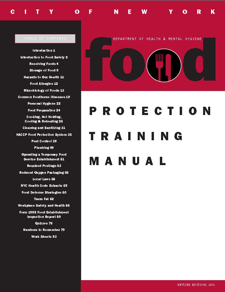 How Did We Can? | Food Protection Training Manual