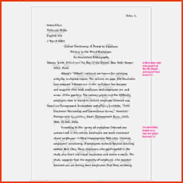 7+ annotated bibliography mla format - LetterHead Template Sample