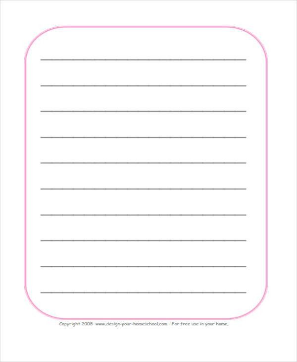 25+ Free Lined Paper Templates   Free & Premium Templates