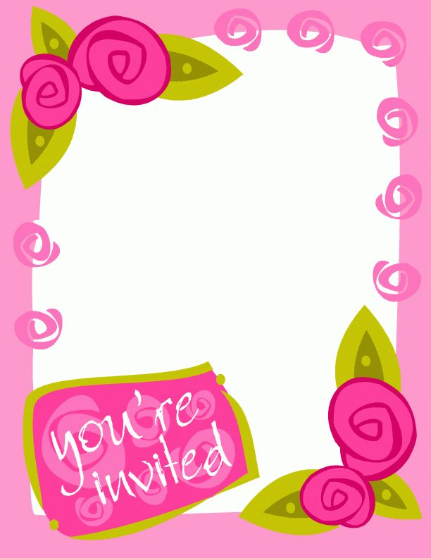 Invitation Clipart | Free Download Clip Art | Free Clip Art | on ...