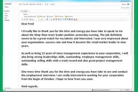 Follow Up Email To Resume Submission Sample Follow Up Email After ...