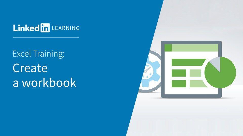 Video: Create a workbook - Excel